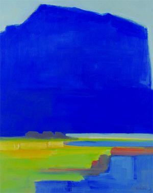 blä swark (blaue Wolke)